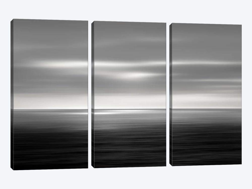 On The Sea I by Maggie Olsen 3-piece Canvas Print
