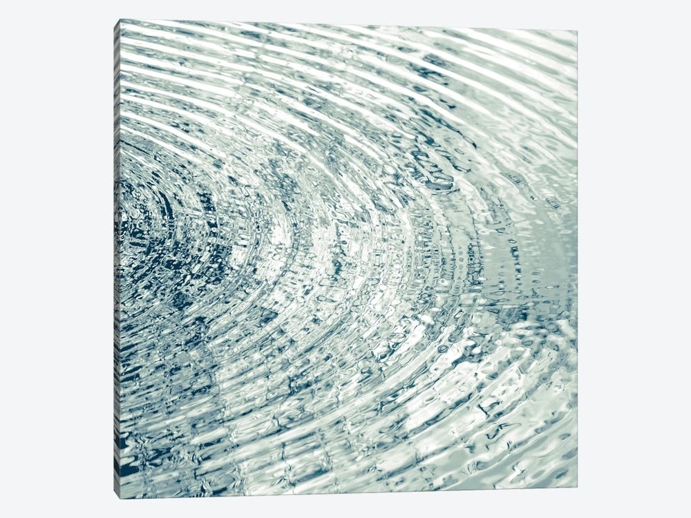 Ripples Aqua II by Maggie Olsen 1-piece Canvas Wall Art