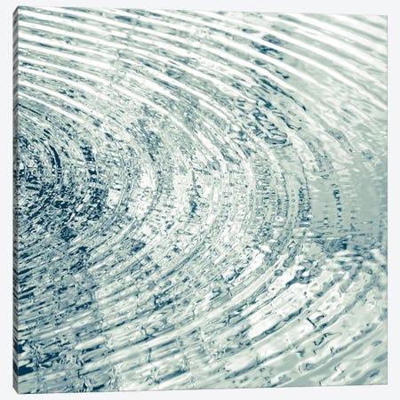 Ripples Aqua II Canvas Print #MGG40} by Maggie Olsen Canvas Wall Art