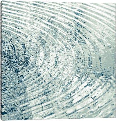 Ripples Aqua II Canvas Art Print