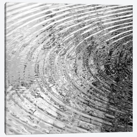 Ripples Black & White I Canvas Print #MGG41} by Maggie Olsen Canvas Wall Art