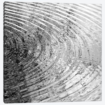 Ripples Black & White II Canvas Print #MGG42} by Maggie Olsen Canvas Wall Art