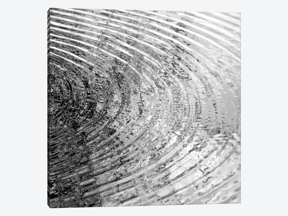 Ripples Black & White II by Maggie Olsen 1-piece Canvas Artwork