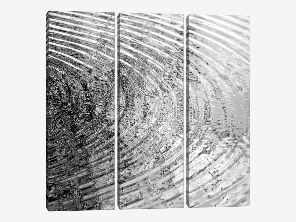 Ripples Black & White II by Maggie Olsen 3-piece Canvas Artwork