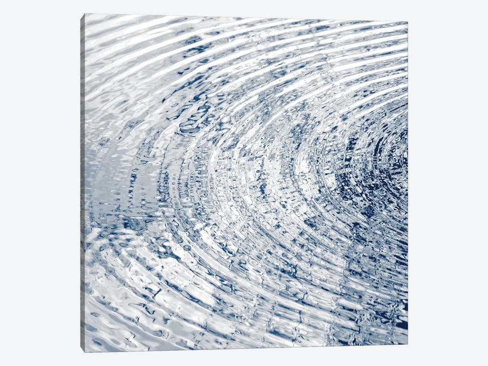 Ripples Indigo I 1-piece Art Print