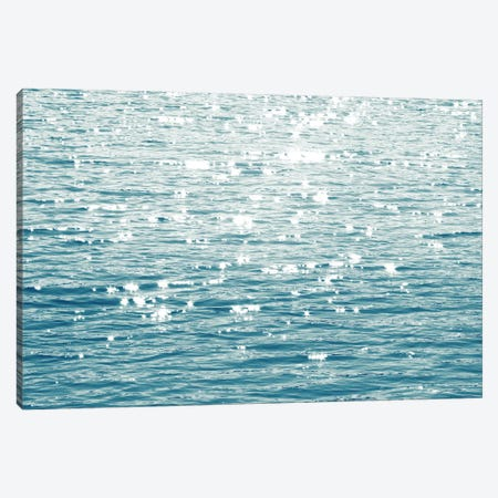Sunlit Sea Aqua Canvas Print #MGG45} by Maggie Olsen Canvas Print