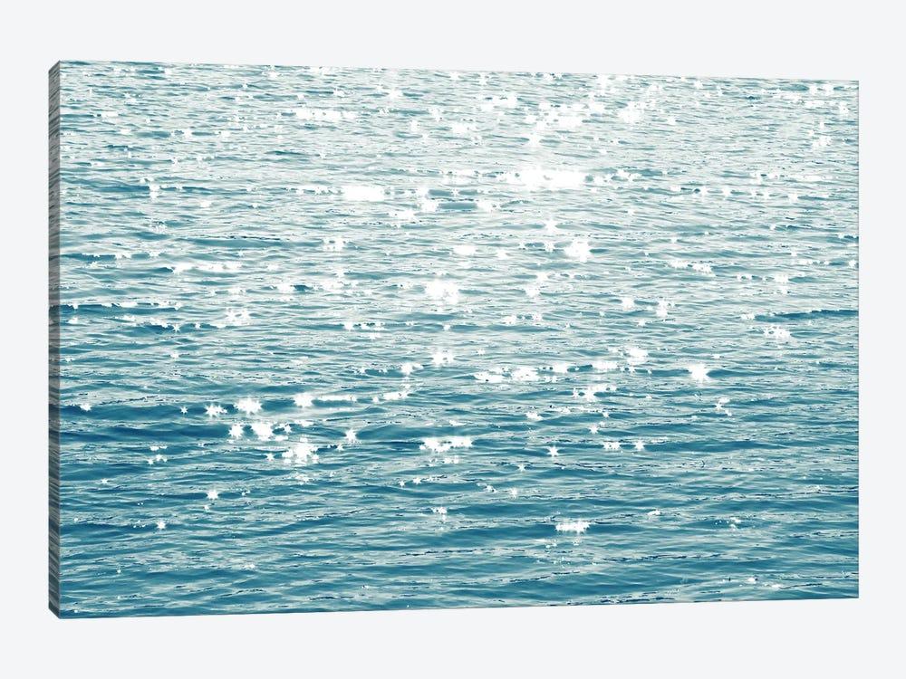Sunlit Sea Aqua by Maggie Olsen 1-piece Canvas Print