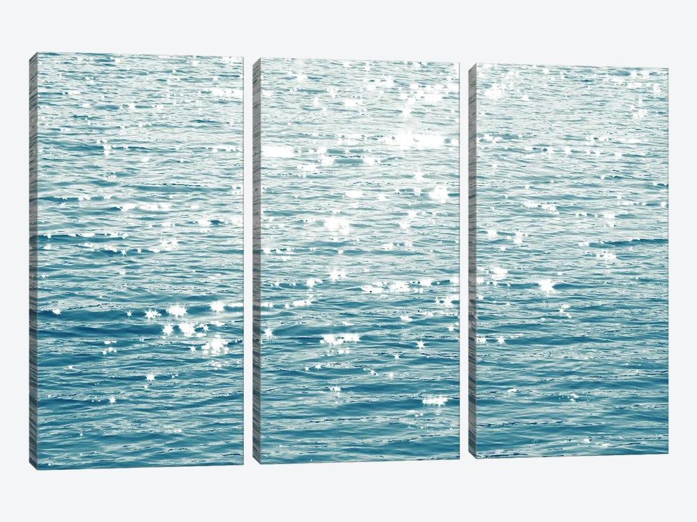 Sunlit Sea Aqua by Maggie Olsen 3-piece Canvas Art Print