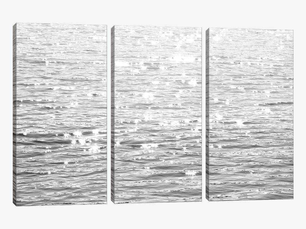 Sunlit Sea Black & White by Maggie Olsen 3-piece Canvas Artwork