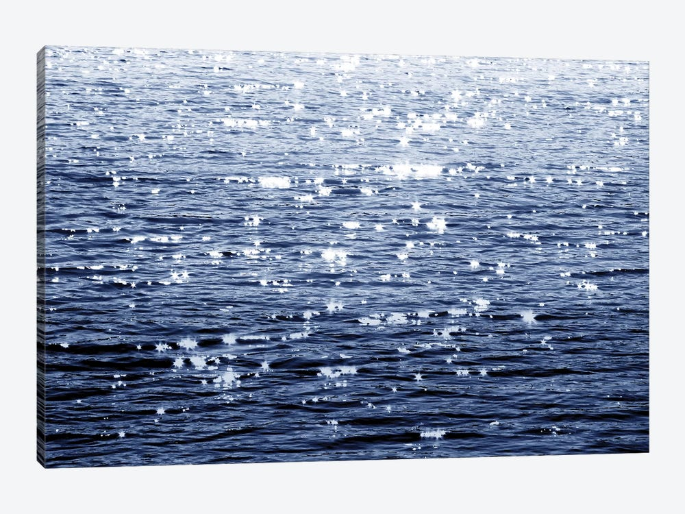 Sunlit Sea Indigo by Maggie Olsen 1-piece Canvas Art Print