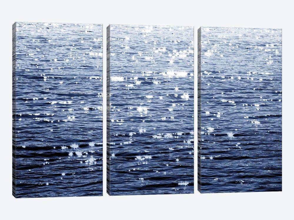 Sunlit Sea Indigo by Maggie Olsen 3-piece Art Print