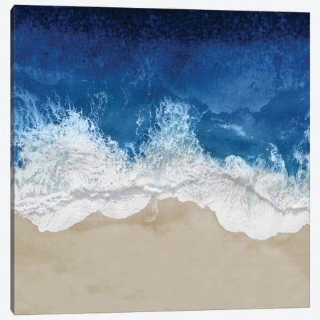 Indigo Ocean Waves IV Canvas Print #MGG52} by Maggie Olsen Art Print