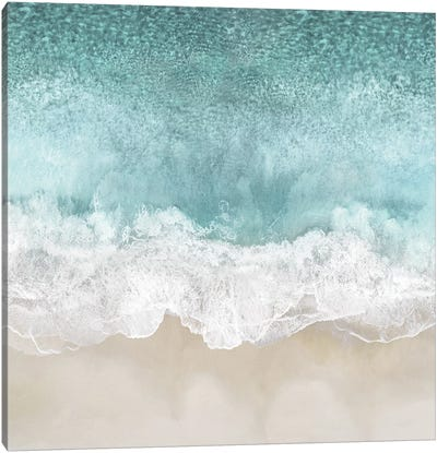 Ocean Waves I Canvas Art Print