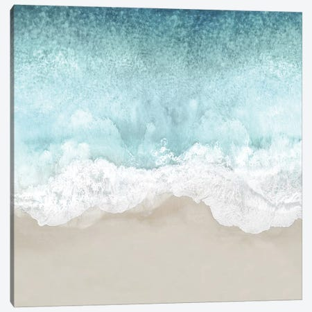 Ocean Waves II Canvas Print #MGG56} by Maggie Olsen Canvas Artwork