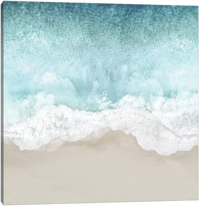 Ocean Waves II Canvas Art Print