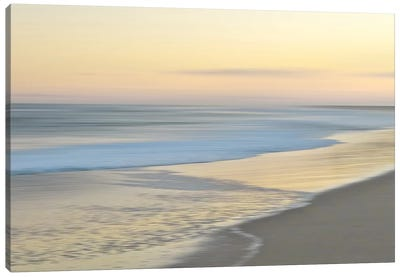 Pastel Horizon Canvas Art Print