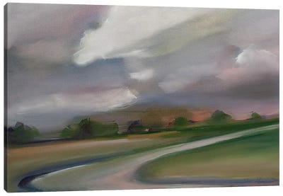 Space For Stillness. Canvas Art Print