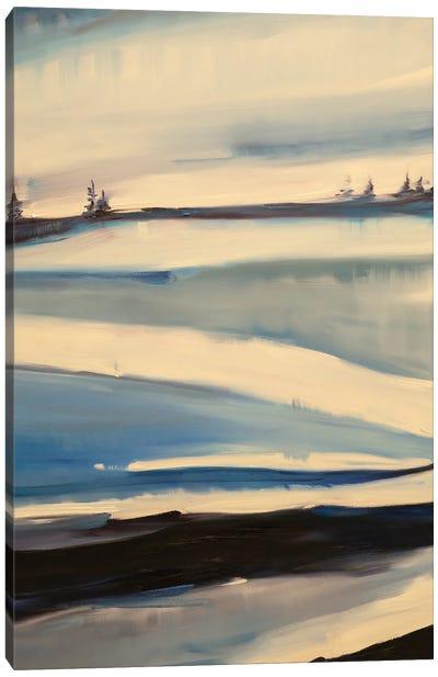 Gracefully Exploring Canvas Art Print