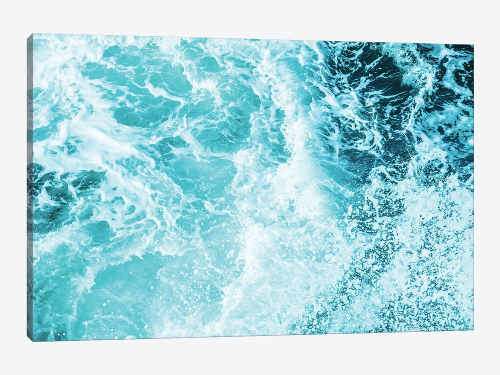 Perfect Ocean Sea Waves by Nature Magick 1-piece Canvas Wall Art