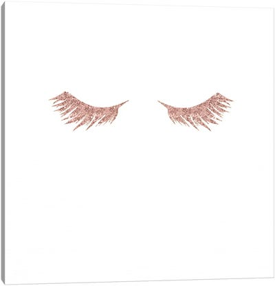 Pretty Lashes Canvas Art Print