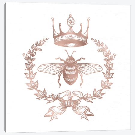 Queen Bee Canvas Print #MGK109} by Nature Magick Canvas Print