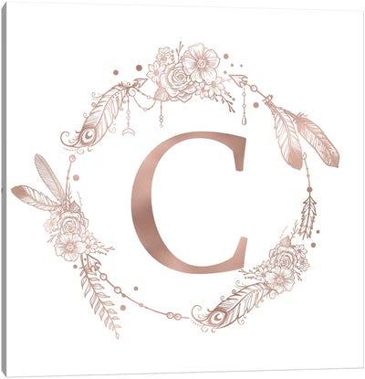 The Letter C Canvas Art Print