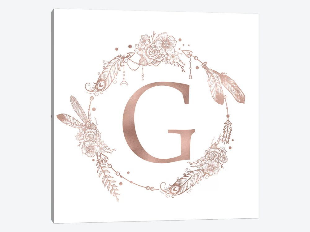 The Letter G by Nature Magick 1-piece Art Print