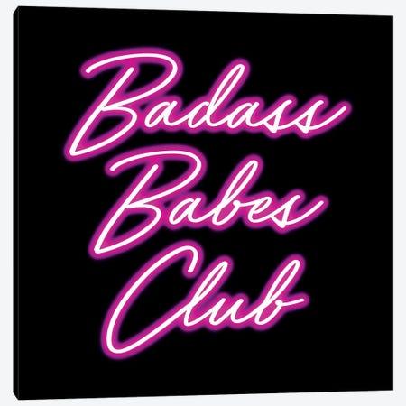 Badass Babes Club II Canvas Print #MGK11} by Nature Magick Art Print