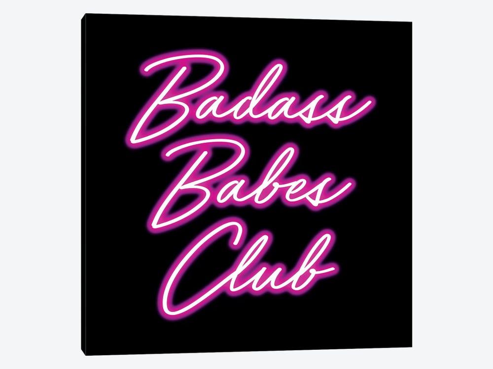 Badass Babes Club II by Nature Magick 1-piece Canvas Art