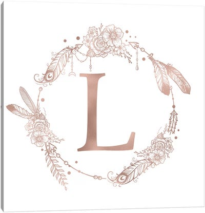 The Letter L Canvas Art Print