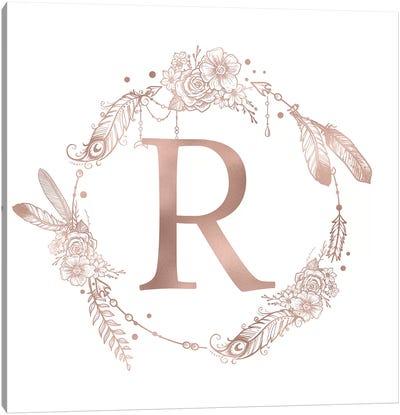 The Letter R Canvas Art Print