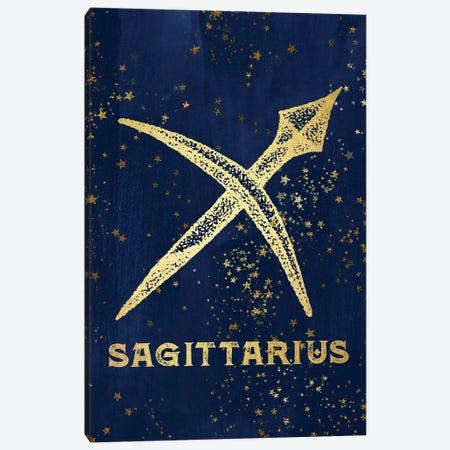 Sagittarius Zodiac Sign 3-Piece Canvas #MGK144} by Nature Magick Canvas Art