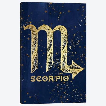 Scorpio Zodiac Sign Canvas Print #MGK145} by Nature Magick Canvas Artwork