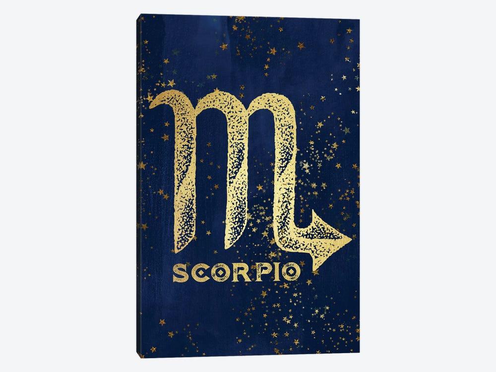 Scorpio Zodiac Sign by Nature Magick 1-piece Canvas Wall Art