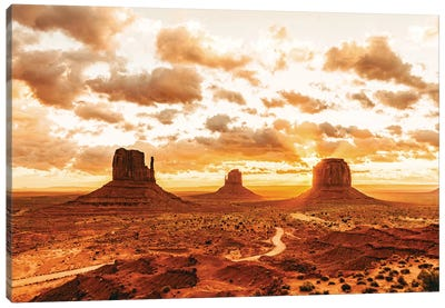 Southwestern Monument Valley Utah Canvas Art Print