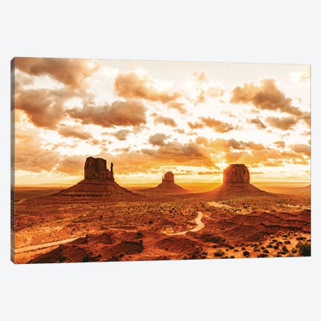 Southwestern Monument Valley Utah Canvas Print #MGK149} by Nature Magick Canvas Art Print