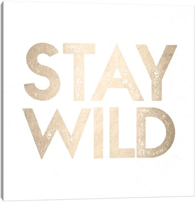 Stay Wild II Canvas Art Print