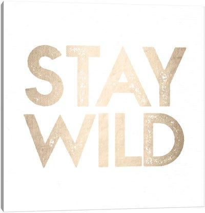 Stay Wild II Canvas Art Print