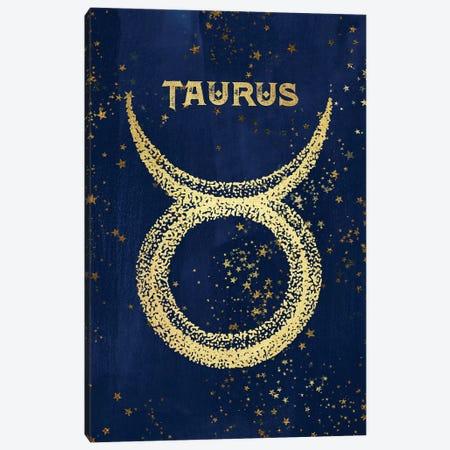 Taurus Zodiac Sign Canvas Print #MGK162} by Nature Magick Art Print
