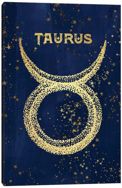 Taurus Zodiac Sign Canvas Art Print