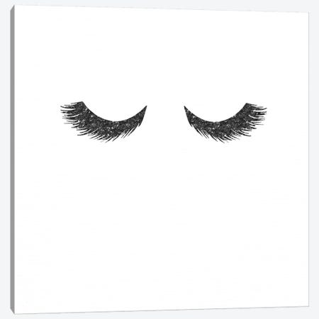 Black Lashes 3-Piece Canvas #MGK17} by Nature Magick Canvas Artwork