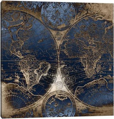 World Map Antique II Canvas Art Print