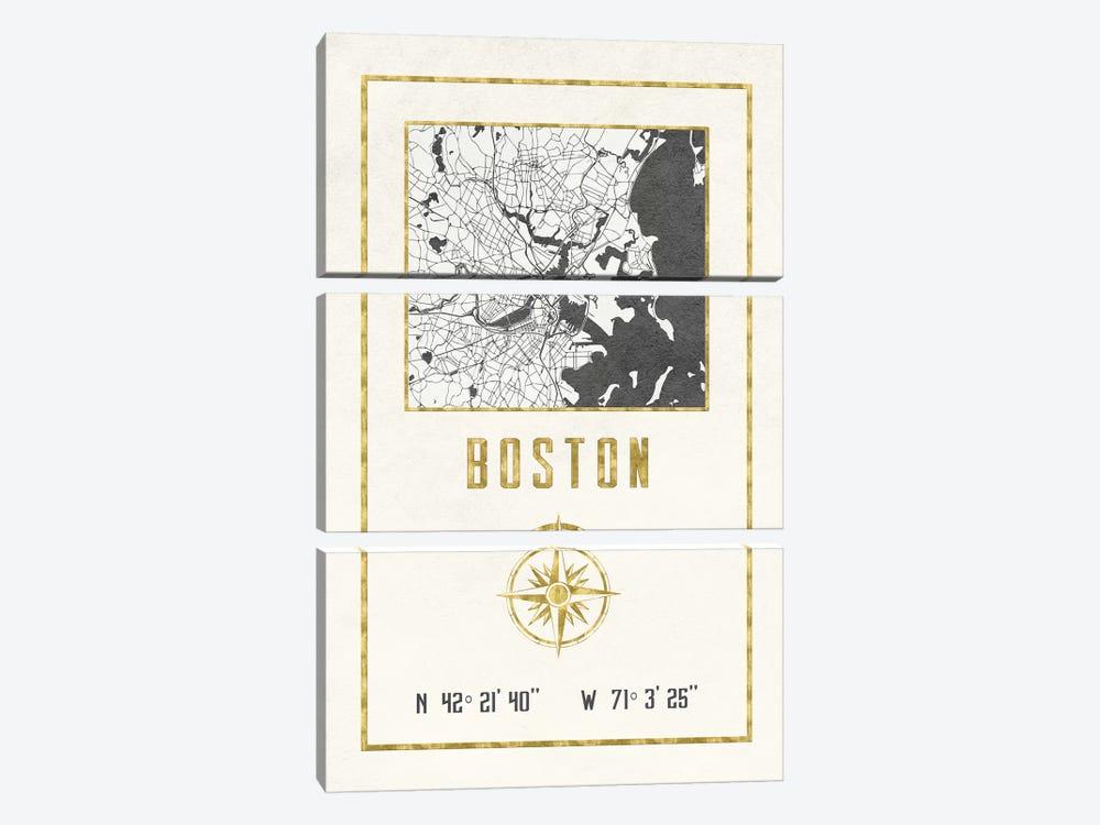 Boston, Massachusetts by Nature Magick 3-piece Canvas Artwork