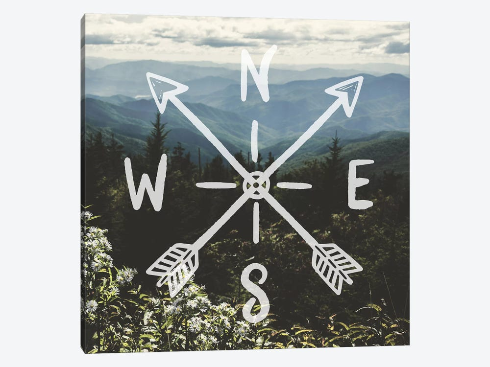 Mountain Wildflowers by Nature Magick 1-piece Canvas Wall Art