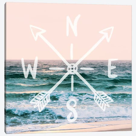 Pastel Ocean Sky 3-Piece Canvas #MGK255} by Nature Magick Canvas Wall Art