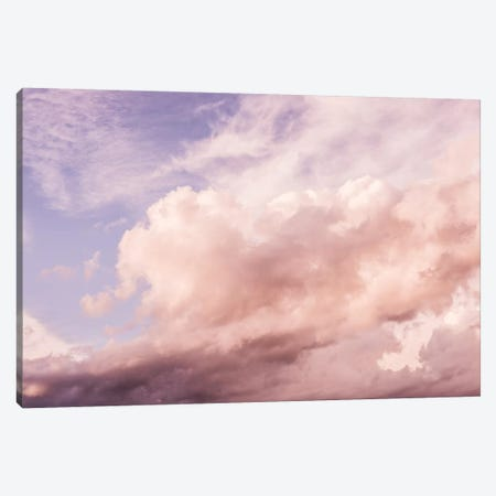 Cotton Clouds Summer Sky Canvas Print #MGK259} by Nature Magick Art Print