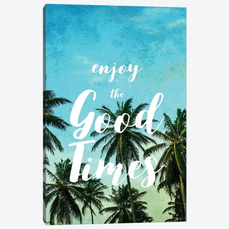 Enjoy The Good Times I 3-Piece Canvas #MGK25} by Nature Magick Canvas Print