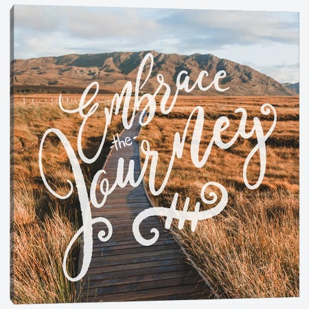 Embrace The Journey In Mountain Valley Path Canvas Print #MGK276} by Nature Magick Canvas Artwork