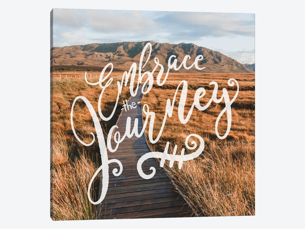 Embrace The Journey In Mountain Valley Path by Nature Magick 1-piece Canvas Wall Art
