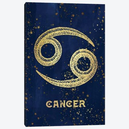 Cancer Zodiac Sign Canvas Print #MGK27} by Nature Magick Art Print